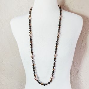MaxMara Weekend Long Beaded Necklace